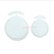 Round Liquid Shaker Coaster Silicone Mold