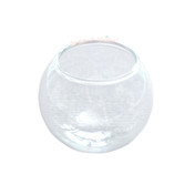 Glass Dome Fish Bowl Terrarium - 2 pieces (35mm)