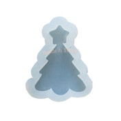 Christmas Tree Clear Silicone Mold