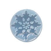 Magical Christmas Snowflake Clear Silicone Mold