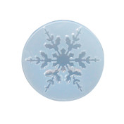 Big Snowflake Clear Silicone Mold