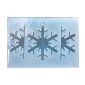 3D Snowflakes Clear Silicone Mold