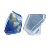 Large Faceted Quartz Silicone Mold