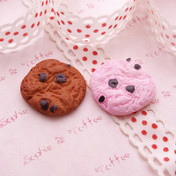 Amos Cookie Cabochon - 10 pieces