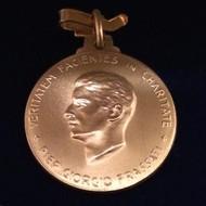 18k Gold Blessed Pier Giorgio Frassati Medal