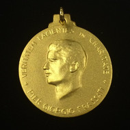 Gold-Plated Blessed Pier Giorgio Frassati Medals