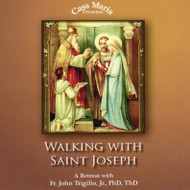 Walking with St. Joseph Men's Retreat (CDs) - Fr. John Trigilio