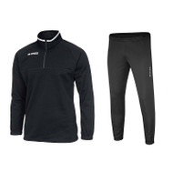 Errea Mansel Quarter Zip Tracksuit Set 2 (Black)