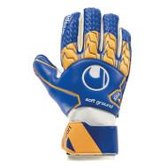 Uhlsport Soft RF Goalkeeper Gloves (Navy/Orange)