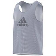 adidas Mesh Bib - Silver - Training Equipment