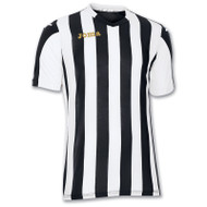 Joma Copa Kids Football Shirt (Black/White)