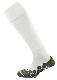 mitre Division Plain Football Socks White
