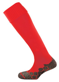 Kids mitre Teamwear Division Plain Football Socks Scarlet
