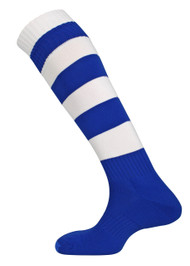 Kids mitre Teamwear Mercury Football Socks Royal Blue/White