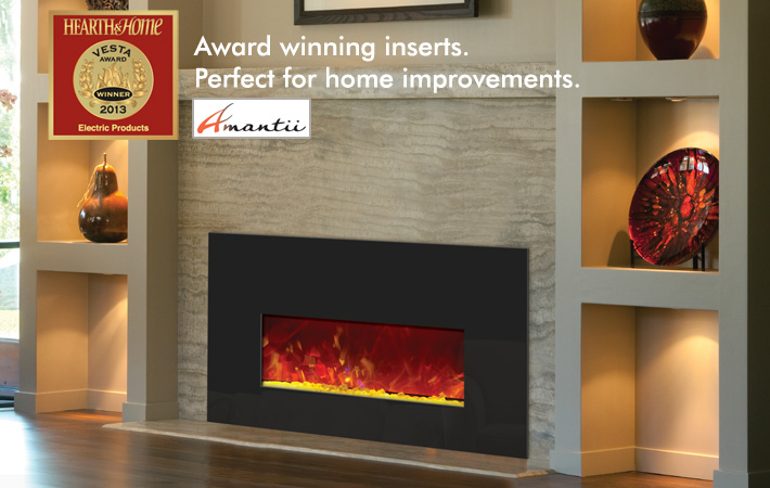 Amantii electric fireplace inserts