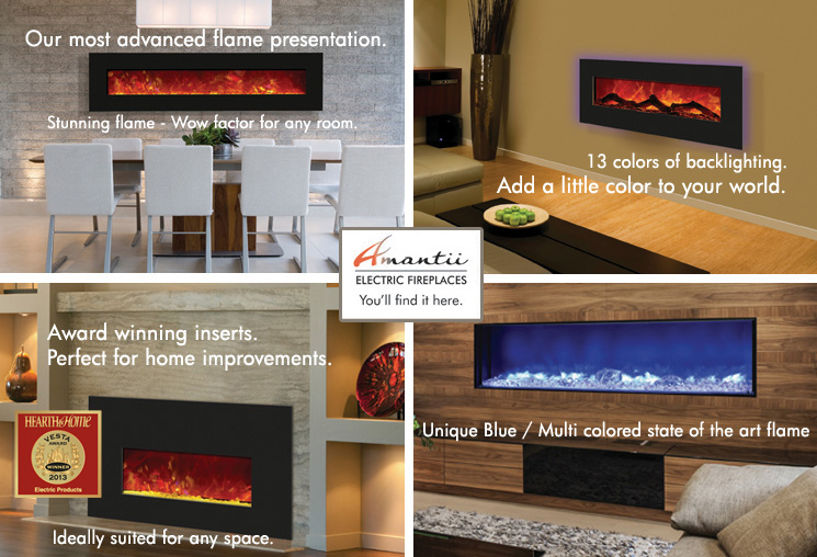 electric fireplaces - order online, purchase