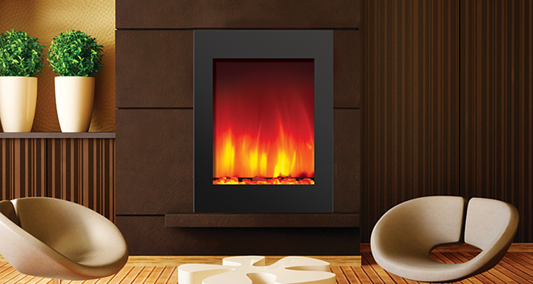 Small Zero Clearance Electric Fireplace - order online