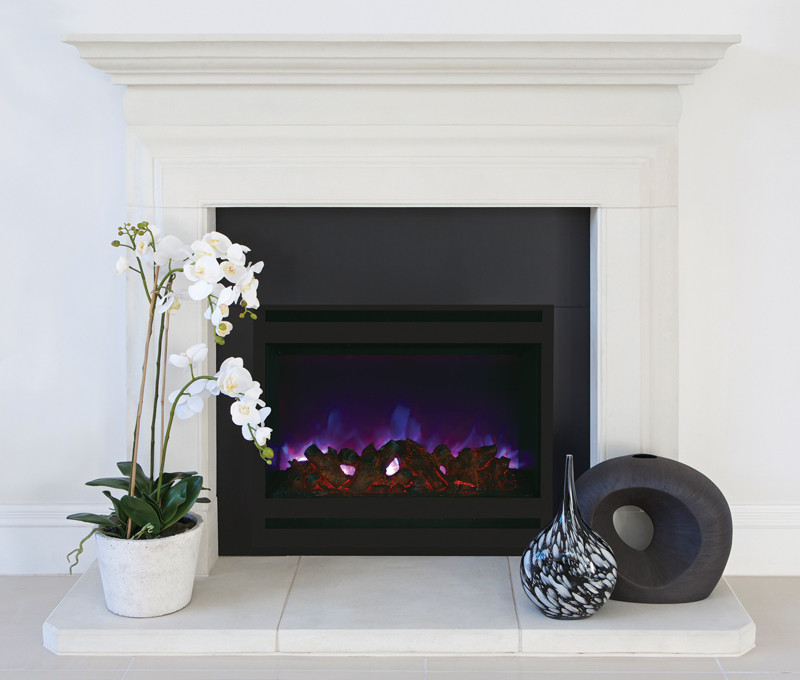 Amantii ZECL-31-3228-STL SQR Zero Clearance Electric Fireplace ... : electric fireplace clearance : Electric Fireplace