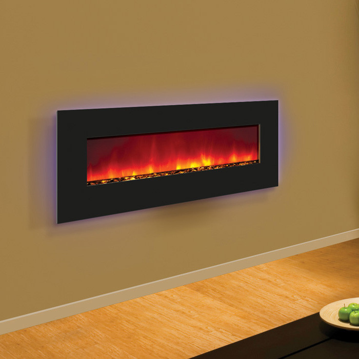 Amantii Electric Fireplace 48 Wide Wall Mount Or Built In