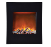 Amantii WM-BI‐2428‐VLR 'Portrait' 24″ x 28″ Surround Fireplace - log set