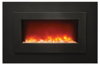 Sierra Flame WM-FML-40 Linear Electric Fireplace