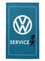 VW Mr Bubblehead Service Campervan Tea Towel