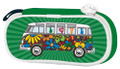 VW Campervan Green Love Bus Pencil / Cosmetic Case