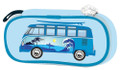 VW Campervan Blue Surfer Pencil / Cosmetic Case