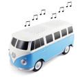 VW Blue Campervan Bluetooth Speaker
