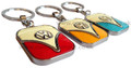 Official VW Campervan Tag Key Ring