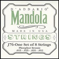 D'addario J76 Mandolin Strings (15-52)