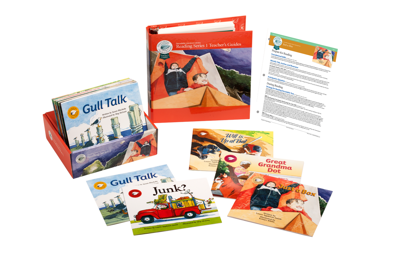Reading Series One Classroom set with decodable books and teacher's guides