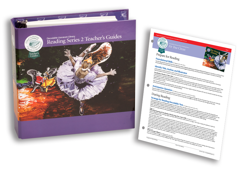 Reading Series Two Foundational Skills Guides for decodable books