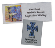 Custom Woven Prayer Shawl Labels
