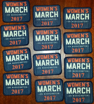 "Women's March on Washington 2017 Patches 2"" tall x 2 1/2"" wide"
