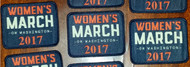 Women's March 2017  Patch or Badge Customized with your city or area