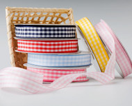 Large Check Gingham Ribbon