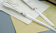 Personalized Nickel Plated Sleek and Classic Letter Opener