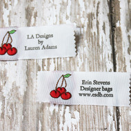 Clothing Label - Cherries