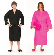 Long Waffle Weave Robes