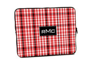 Red and Black Plaid iPad and Laptop Sleeves