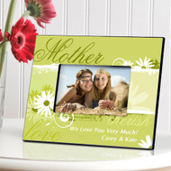 Delightful Daisy's Personalized Mother Picture Frame
