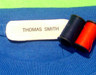 Sew on Clothing Labels - 1 Line Layout, Style 101