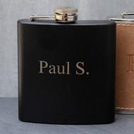 Black Matte Flask