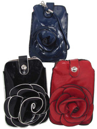 Blossom Phone Case - Red, Black, and Blue