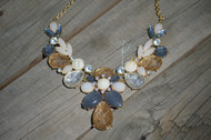 Fancy Facets Necklace and Earring Set