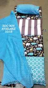 It's a Zoo Boy Personalized Nap Mats