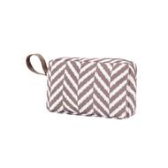 Herringbone Accessory Bag