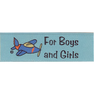 Come Fly Away with Me! Fabric Clothing Labels