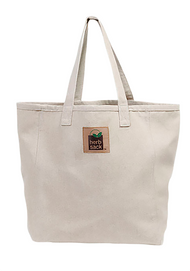 The Geri Organic Hemp Canvas Tote In Natural